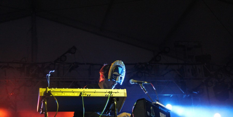 SBTRKT performs at Governors Ball 2015