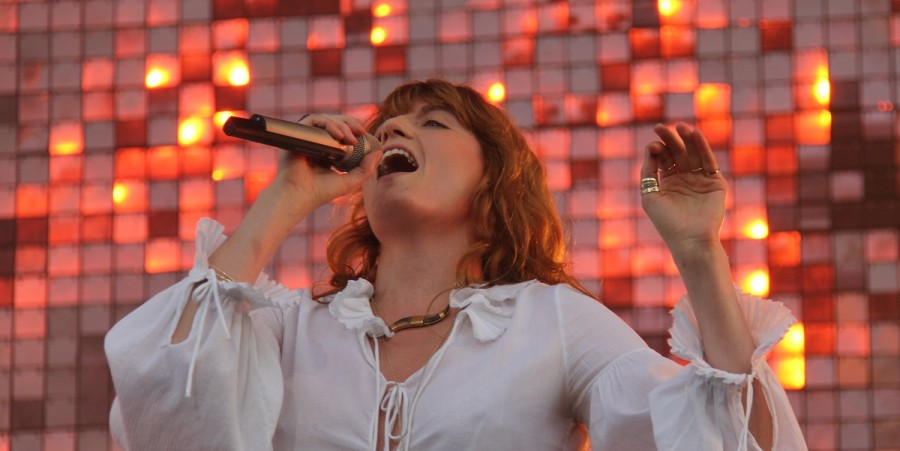 Florence + The Machine performs at GovBall 2015
