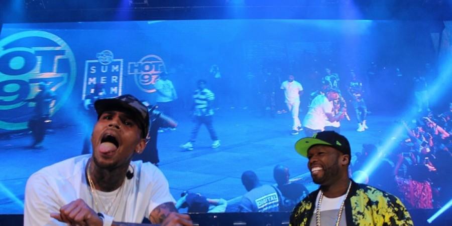 Hot 97 Summer Jam 2015: Chris Brown & Fabolous Riot On Met Life Stadium Stage