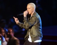 Eminem performs in 2014