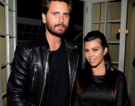 Scott Disick and Kourtney Kardashian - Getty Images