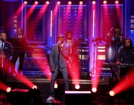 OMI performs 'Cheerleader' on 'The Tonight Show', July 14, 2015