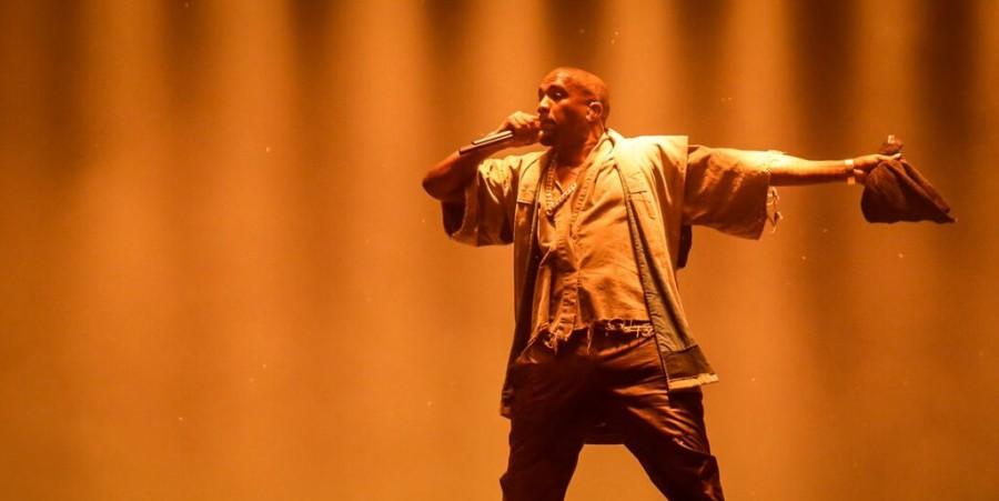 Kanye West performs at RBC Ottawa Bluesfest, 2015