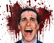 Christian Bales parties hard in 'American Psycho.'