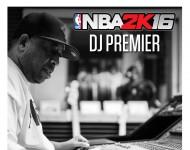 NBA 2K16 DJ Premier Cover