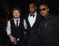 Ed Sheeran, Jay Z and Nas. Two of these individuals were involved in one of the biggest hip-hop beefs of all time. Guess which two.