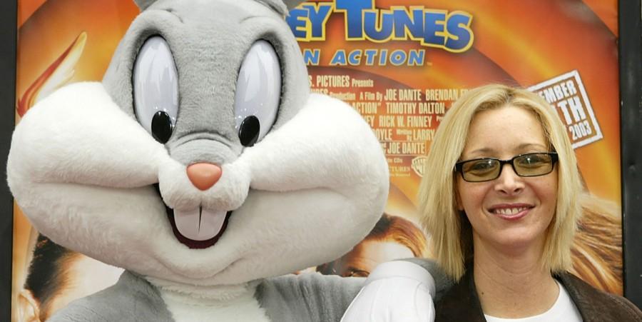 Bug Bunny and famous pal Lisa Kudrow
