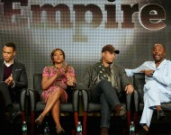 'Empire' actors Trai Byers, Taraji P. Henson, Terrence Howard and executive producer Lee Daniels
