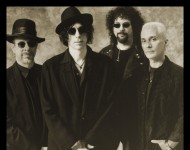 The J. Geils Band (Peter Wolf, second from left).