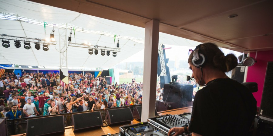 The Temple Island Stage at Bestival