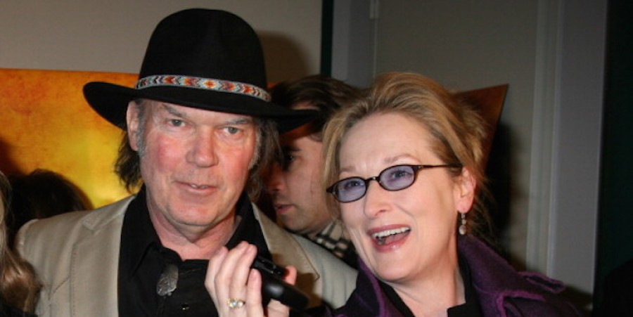 Neil Young and Meryl Streep