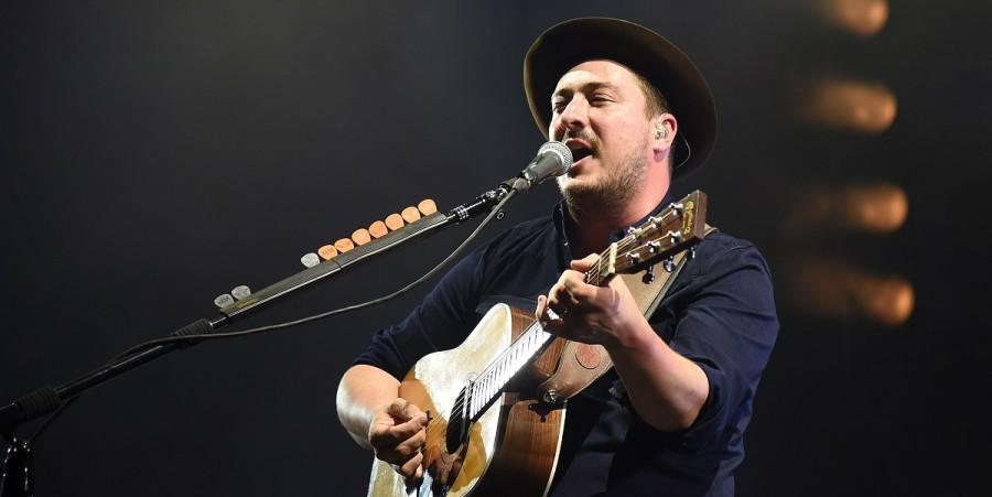 Marcus Mumford of Mumford & Sons performs at Bonnaroo 2015