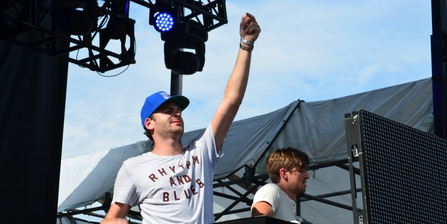 The Chainsmokers at Billboard Hot 100 Music Festival 2015