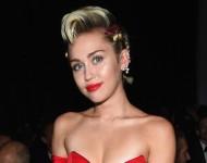 Miley Cyrus at AMFAR Benefit, 2015