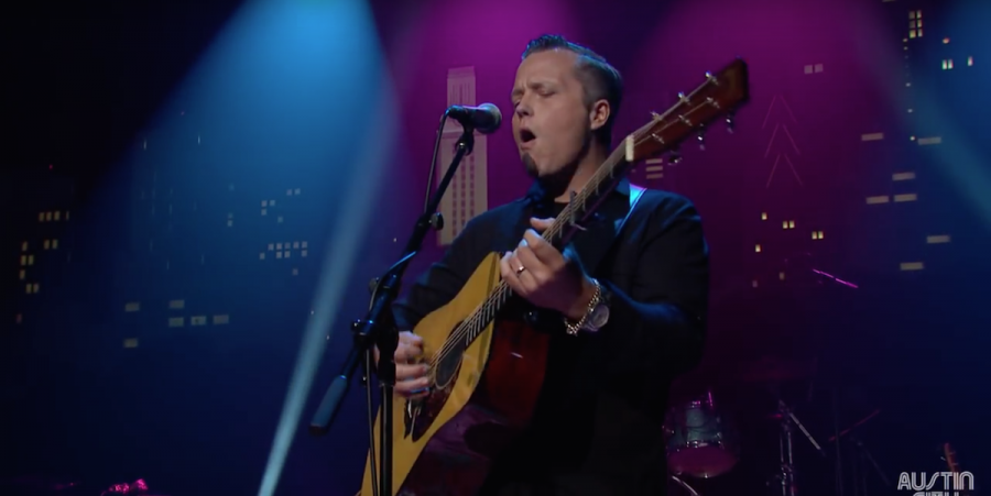 Jason Isbell Preforms at the ACL Hall of Fame Induction Ceremony
