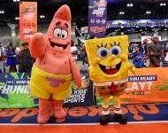 Patrick Starr and Spongebob Squarepants