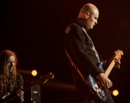 Singer Billy Corgan of The Smashing Pumpkins performs during 2015 Lollapalooza Brazil at Autodromo de Interlagos