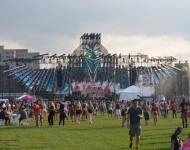 Electric Zoo 2015 Main Stage & Quad