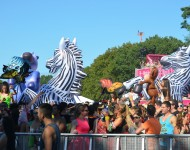 Electric Zoo 2015 Crowd