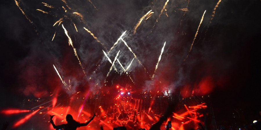 Electric Zoo 2015 Final Transformation Fireworks