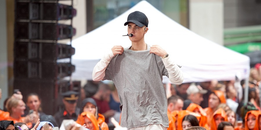 Justin Beiber Performs On NBC's 'Today'