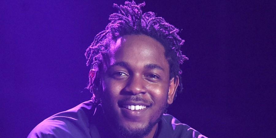 Kendrick Lamar performs at Bonnaroo 2015