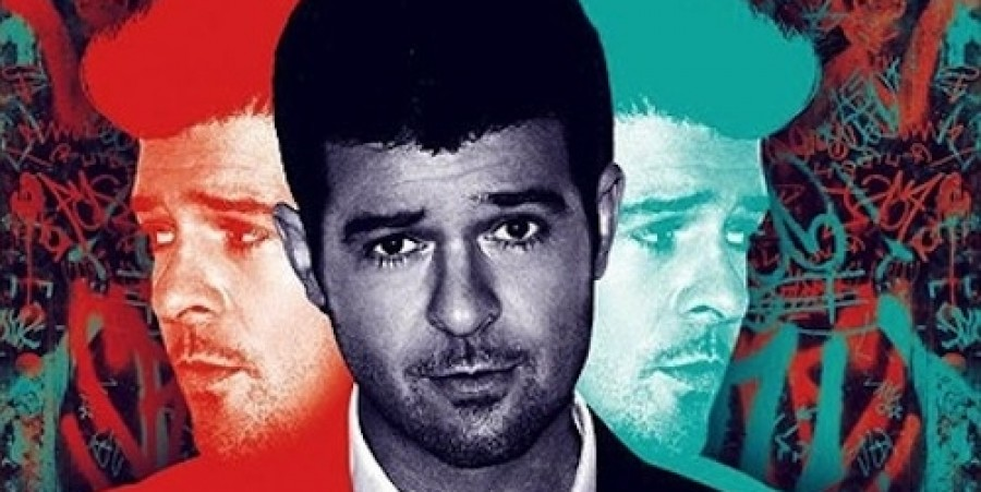 Robin Thicke only needed one of himself to top the downloads chart for 2013