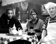 RZA, GZA, and Bill Murray in Coffee & Cigarettes