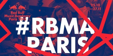 Red Bull Music Academy Paris 2015