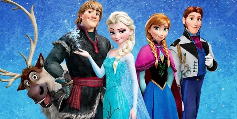 Characters from Disney's 'Frozen'