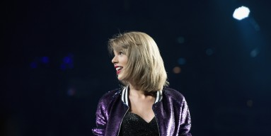 Taylor Swift performs during The 1989 World Tour at Nationwide Arena