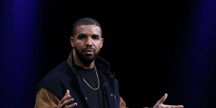 Recording artist Drake speaks about Apple Music during the Apple WWDC on June 8, 2015 in San Francisco, California. Apple annouced a new OS X, El Capitan, iOS 9 and Apple Music during the keynote at the annual developers conference that runs through June