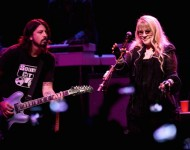 Dave Grohl and Stevie Nicks