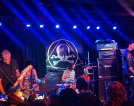 Kim Gordon playing with Nirvana at Saint Vitus Bar in Brooklyn after The Rock and Roll Hall of Fame Induction Ceremony
