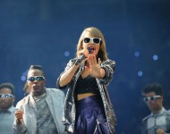 Taylor Swift performs onstage during the 1989 World Tour at Scottrade Center