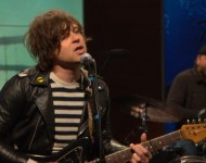 Ryan Adams performs on 'The Daily Show with Trevor Noah,' 2015