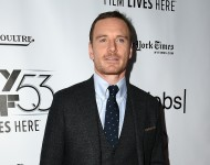 Michael Fassbender attends the 53rd New York Film Festival - 'Steve Jobs' at Alice Tully Hall, Lincoln Center on October 3, 2015 in New York City.