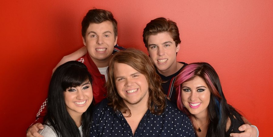 'American Idol' top 5 contestants: Alex Preston, Sam Woolf, Jessica Meuse, Caleb Johnson and Jena Irene