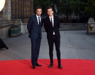 Liam Payne and Louis Tomlinson attend Believe In Magic Cinderella Ball