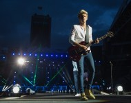 Niall Horan of One Direction performs in 2015