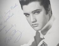 Elvis Presley, with love.