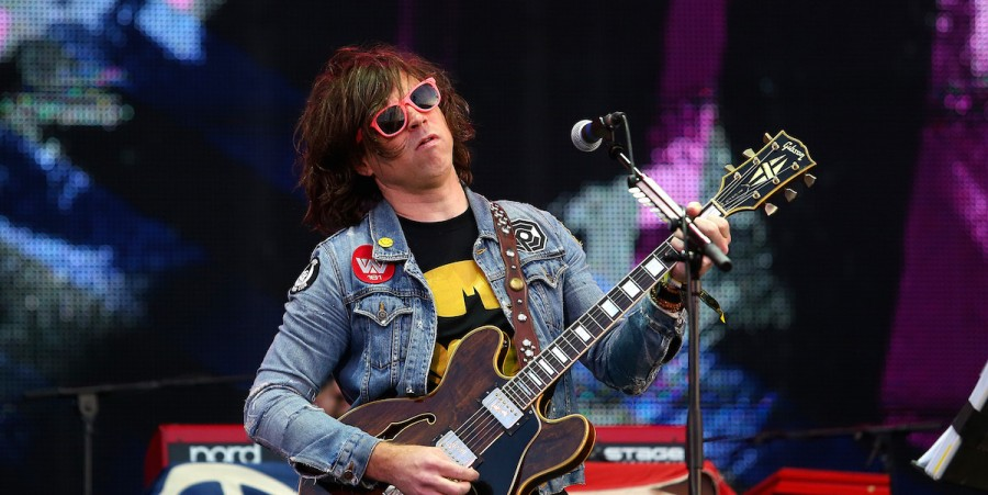 Ryan Adams performs during the Jaguar Land Rover Invictus Games Closing Ceremony at the South Lawn of Queen Elizabeth Olympic Park