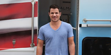 Nick Lachey Kicks Off Almay Simply American Experience in New...