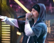 Justin Bieber performs on stage during the 'El Hormiguero' Tv Show on October 28, 2015 in Madrid, Spain.