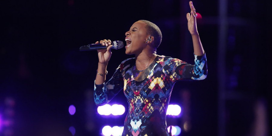 Celeste Betton performs on 'The Voice' season 9