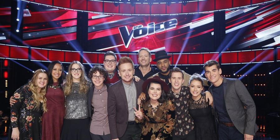 'The Voice' Season 9 Top 12