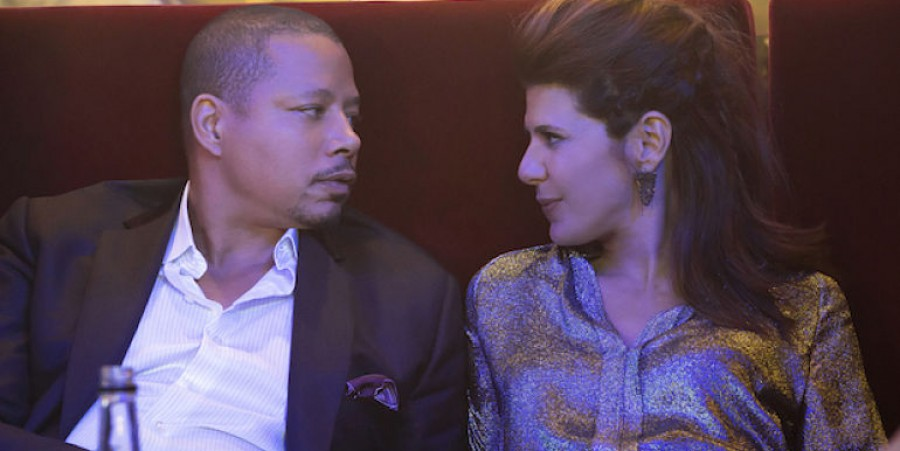 Terrence Howard (l.), Marisa Tomei (r.) in 'Empire'