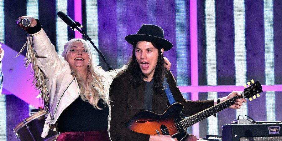 Elle King and James Bay perform onstage during the VH1 Big Music in 2015: You Oughta Know Concert at The Armory Foundation