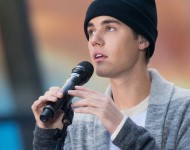 Justin Bieber performs on NBC's 'Today' at NBC's TODAY Show