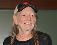 Willie Nelson signs copies of his book 'It's A Long Story: My Life' at Barnes & Noble Union Square